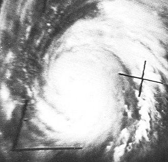 Hurricane Hilda - Image: Hurricane Hilda Oct 1 1964