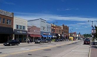 Hutchinson, Minnesota - Downtown Hutchinson