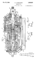 Hydrostatic transmission US2360025 page 1.png