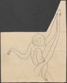 Hylobates leuciscus - 1700-1880 - Print - Iconographia Zoologica - Special Collections University of Amsterdam - UBA01 IZ19800119.tif