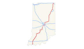 Interstate 69 in Indiana - Wikipedia on