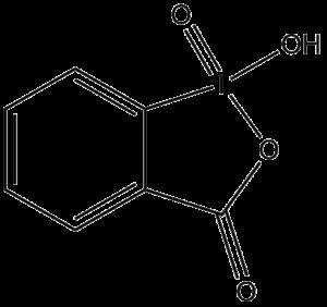 2-Iodoxybenzoic acid - Image: IBX Acid