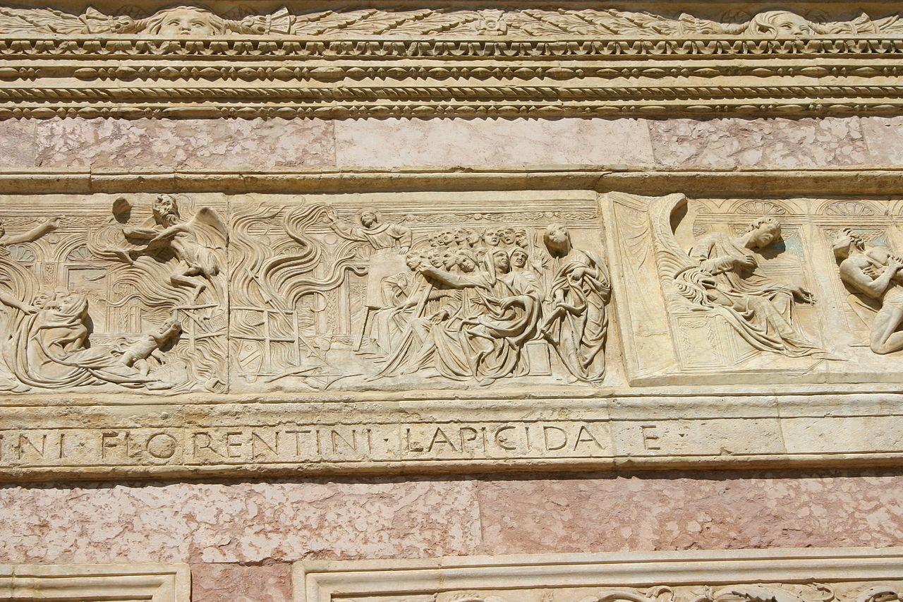 IMG 0797 - Perugia - San Bernardino - Agostino di Duccio -1457-61- - Falò delle vanità - Foto G. Dall'O2.jpg