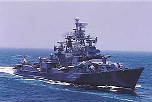 INS Rajput (D51) - Image: INS Rajput (D51)
