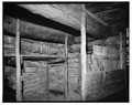 INTERIOR, NORTHEAST CORNER - Rock Well Homestead, Dugout, 15 miles Southeast of Wright, Wright, Campbell County, WY HABS WYO,3-WRT.V,1A-7.tif