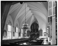 INTERIOR LOOKING EAST - French Protestant Huguenot Church, 136 Church Street, Charleston, Charleston County, SC HABS SC,10-CHAR,71-10.tif