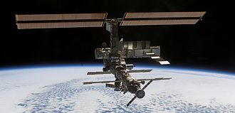 Assembly of the International Space Station - International Space Station on 16 October 2002