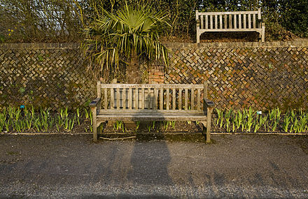 Ian Dury memorial bench Ian Dury-Memorial Bench.jpg