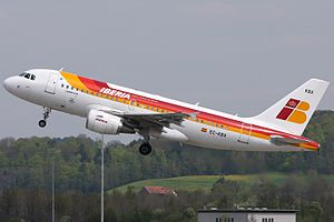 Iberia - Airbus A319-111 EC-KBX.jpg