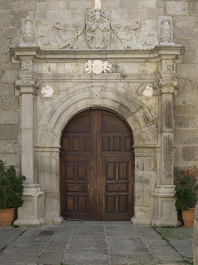 Iglesia de Ntra. Sra. de la Asunción, Baños de Montemayor. Portada.jpg