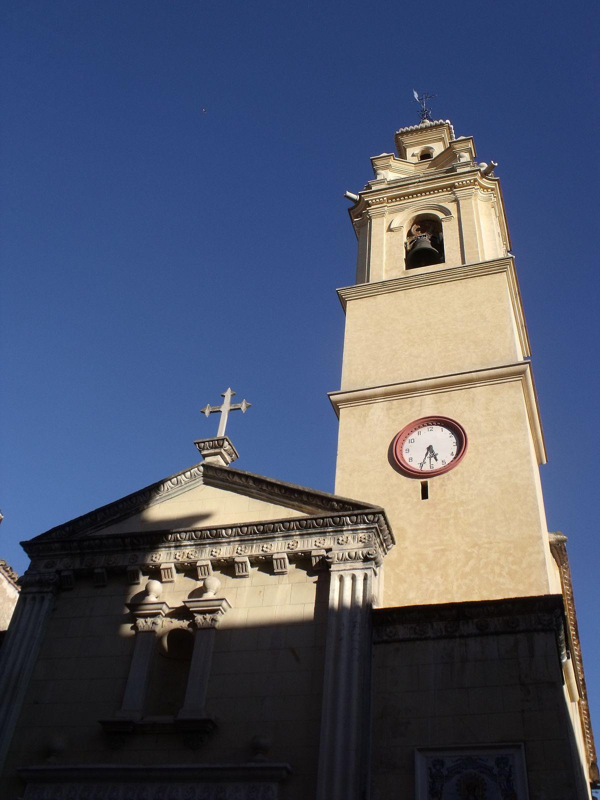 Iglesia de la natividad de nuestra se ora llosa de ranes - El tiempo en la llosa de ranes ...