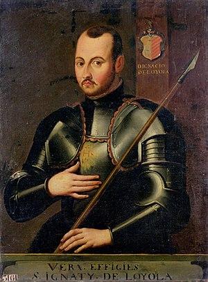 Ignatius of Loyola - Ignatius in armor