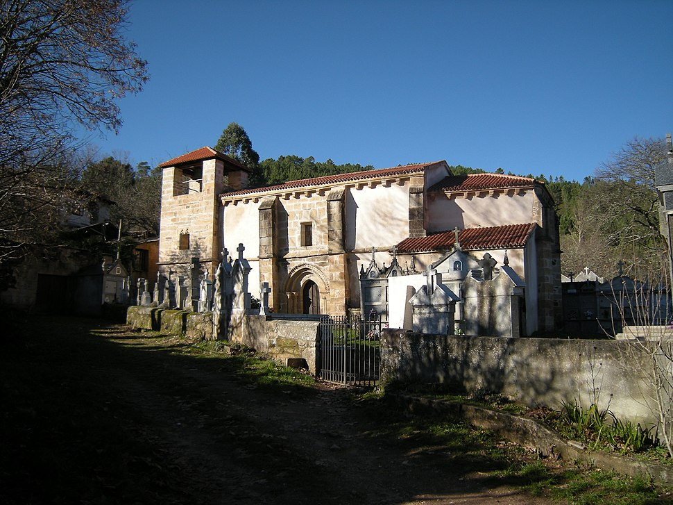 Igrexa de Santa María de Retorta, Laza