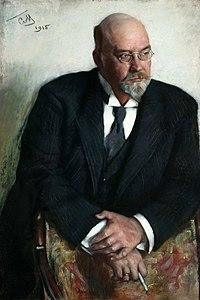 Портрет работы С. Малютина (1915)
