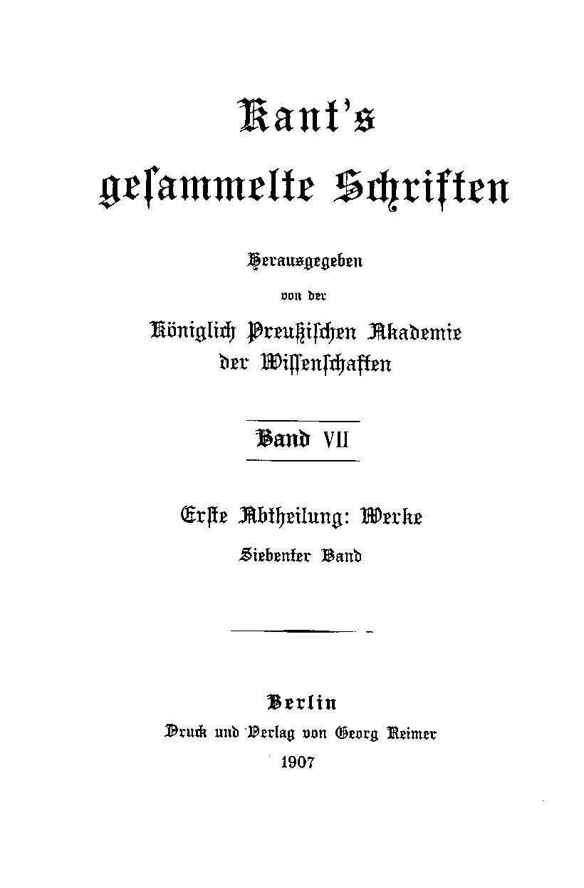 Kant pdf immanuel