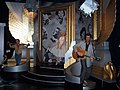 InSapphoWeTrust - James Dean, Marilyn Monroe, and Elvis Presley at Madame Tussauds London (8481389784).jpg