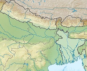 Mappa di localizzazione: Gange
