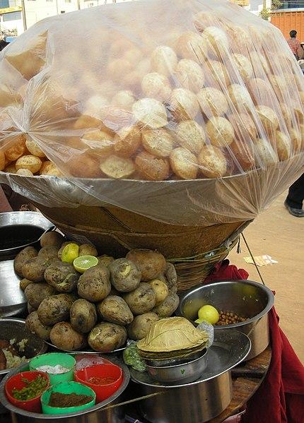 fileindian cuisinepanipuri01jpg wikimedia commons