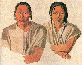 Indiens Guana, par Hercules Florence