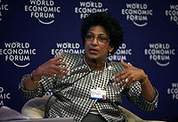Indira V. Samarasekera - Annual Meeting of the New Champions Dalian 2009.jpg