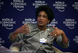 Indira Samarasekera - Indira V. Samarasekera at the World Economic Forum, Annual Meeting of the New Champions, 2009.