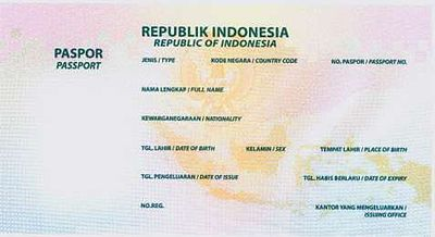 Indonesian passport - Wikipedia