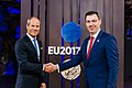 Informal meeting of economic and financial affairs ministers (ECOFIN). Handshake (37240077985).jpg