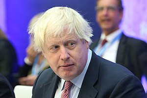 Informal meeting of foreign affairs ministers (Gymnich). Round table Boris Johnson (36913612672) (cropped).jpg