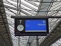Information displays at Helsinki Central railway station 05.jpg