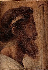 Ingres - Pisistratus head and left hand of Alcibiades, 1824-1834.jpg