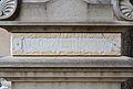 Inscripció a la tomba de Constantí Llombart, cementeri general de València.JPG