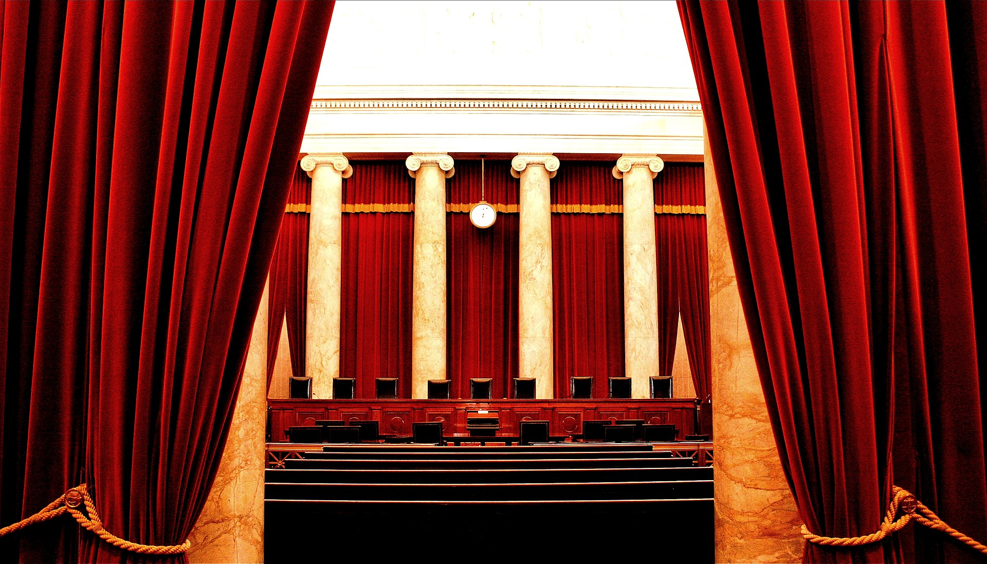 The interior of the United States Supreme Court