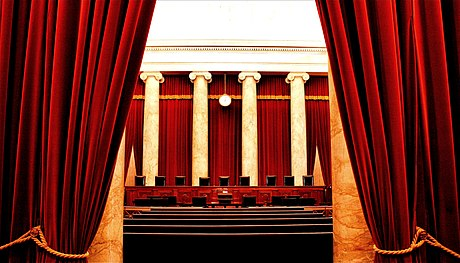 The interior of the United States Supreme Court Inside the United States Supreme Court.jpg