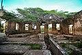 Inside the ruins of the Balashi gold mill.jpg