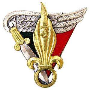 3rd Foreign Parachute Battalion - Battalion Insignia
