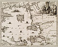 Insularum Archipelagi Septentrionali seu (?) Maris Aegaei Accurata Delinatio autore Imeu (?) - Dapper Olfert - 1688.jpg