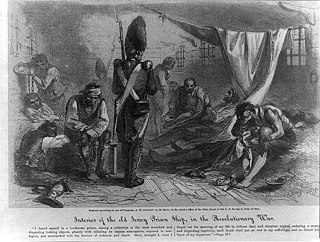 Prisoners of war in the American Revolutionary War aspect of history