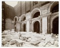 Interior work, Astor Hall - arches on the west side of the hall (NYPL b11524053-489563).tiff