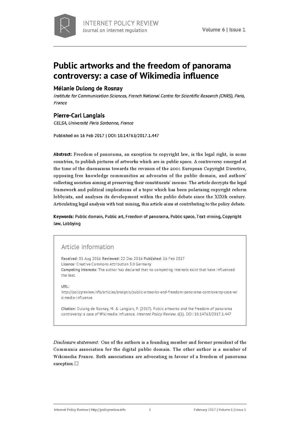 internet regulation research paper