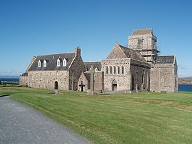 Photo de l'abbaye d'Iona