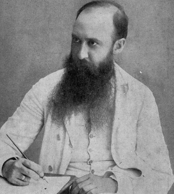 Iorga at his desk Luceaferul 2, 1914