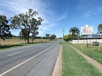 Peak Crossing, Queensland - Ipswich Boonah Road, 2015
