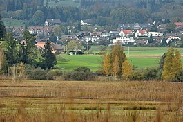 Irgenhausen - Irgenhausen as seen from Auslikon (April 2010)