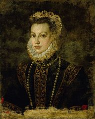 Portrait of Queen Elisabeth of Spain (1545-1568)