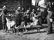 Issue of Gas Masks To British Civilians, 1940 HU103753