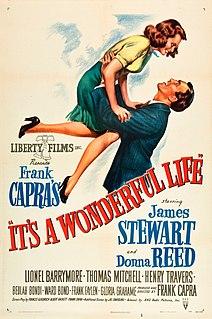 <i>Its a Wonderful Life</i> 1946 film directed by Frank Capra