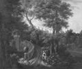 Italian Park (Jan Frans van Bloemen) - Nationalmuseum - 17282.tif