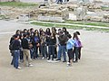 Italian School Group at the Theater of Epidaurus (5986593995).jpg