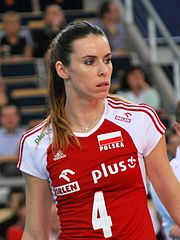 Izabela Bełcik 02 - FIVB World Championship European Qualification Women Łódź January 2014.jpg