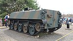JGSDF Type 60 Armoured Personnel Carrier(No.0031M) left rear view at Camp Nihonbara October 1, 2017.jpg